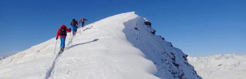 ski de randonnee dans les ecrins niveau confirme