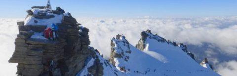 ski de randonnee au grand paradis