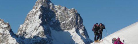 haute route des ecrins à ski