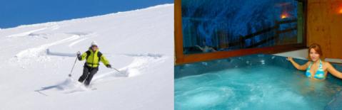 Ski de randonnée et Spa en Val d'Aosta